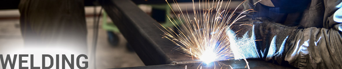 Picture of welder welding